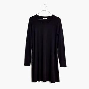 Madewell Swingy long-sleeve tee dress